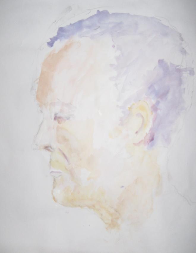 Steve, Watercolour A1